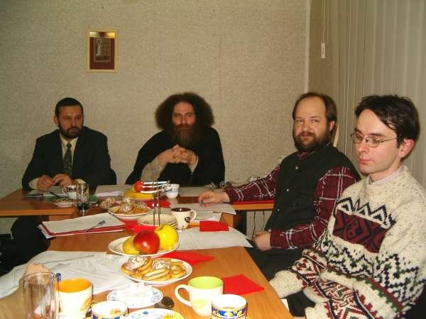 Заседание кафедры библеистики МДА