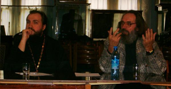 Игумен Вассиан (Змеев) и профессор А.И.Сидоров