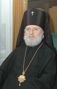 Ректор МДА архиепископ Верейский Евгений